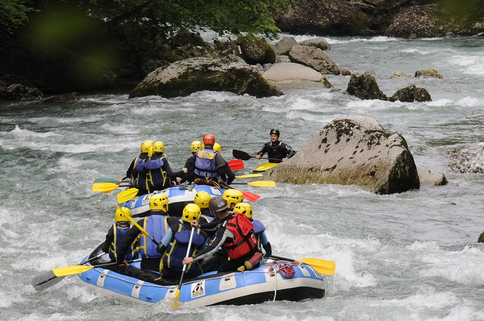 Séminaire Rafting et Segway
