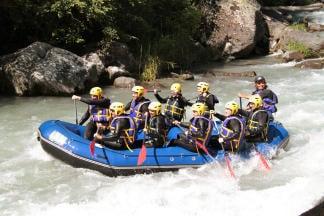 Week end rafting sur la Haute Isère - Savoie - AN Rafting