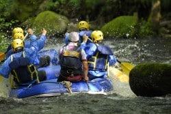 Rafting dans le Parc Naturel du Morvan