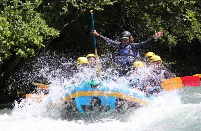 Enterrement Vie de Garçon Rafting
