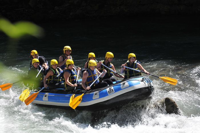 Week-end Rafting et Spa