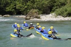 Nage en eau-vive Thonon - Evian-Morzine