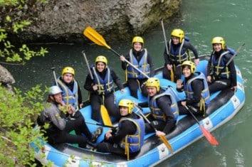 Séminaire rafting Haute Savoie