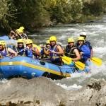 Week end rafting et parcours aventure en Savoie