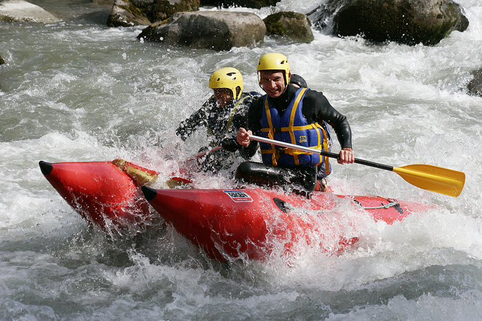 Cataraft exclusivité AN rafting