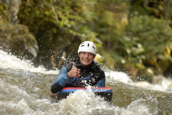 Nage en eau vive séminaire AN Rafting Morvan