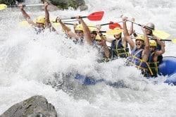 Séminaire challenge rafting en Savoie