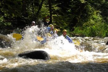 Séminaire Rafting Morvan sur le Chalaux