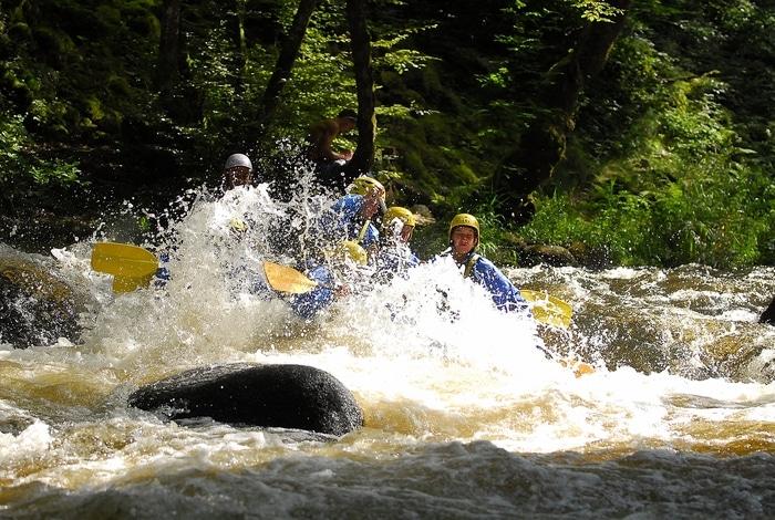 Séminaire Rafting Morvan