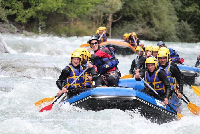 Rafting dans les Alpes : Haute-Savoie (Dranse) - Savoie (Isère)