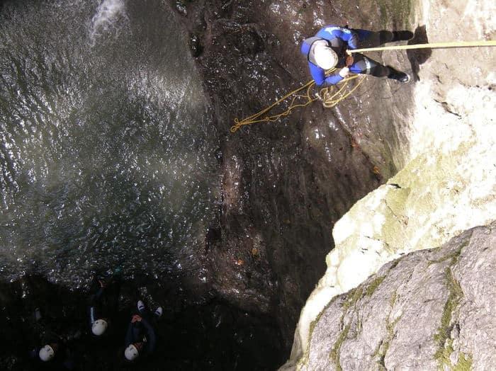 Canyoning Angon Savoie