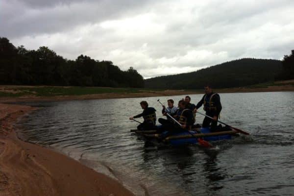 Challenge radeaux lac de Chaumecon bis