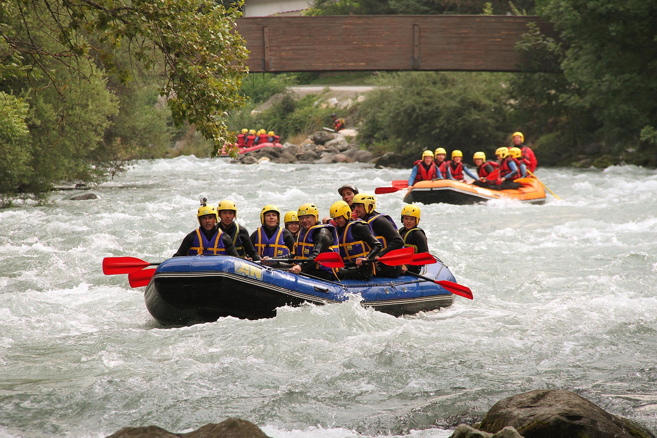 Séminaire Descente Rafting