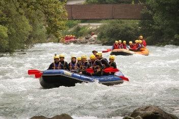 Séminaire Challenge rafting Haute Isère - Savoie
