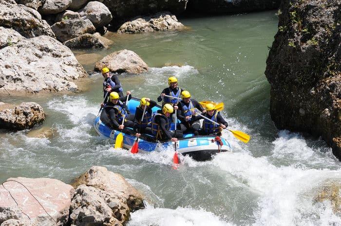 AN rafting Dranse - Thonon, Evian, Morzine - Haute Savoie