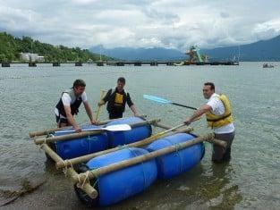 Challenge radeaux incentive, teambuilding morvan