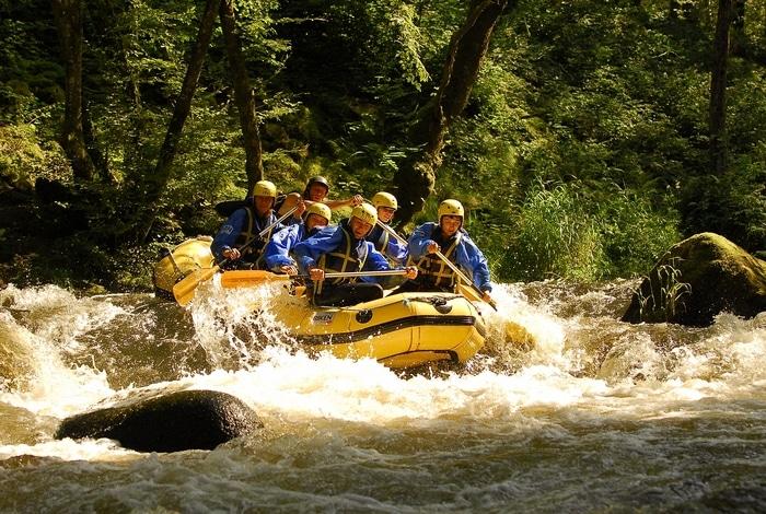 Formules Rafting dans le Morvan
