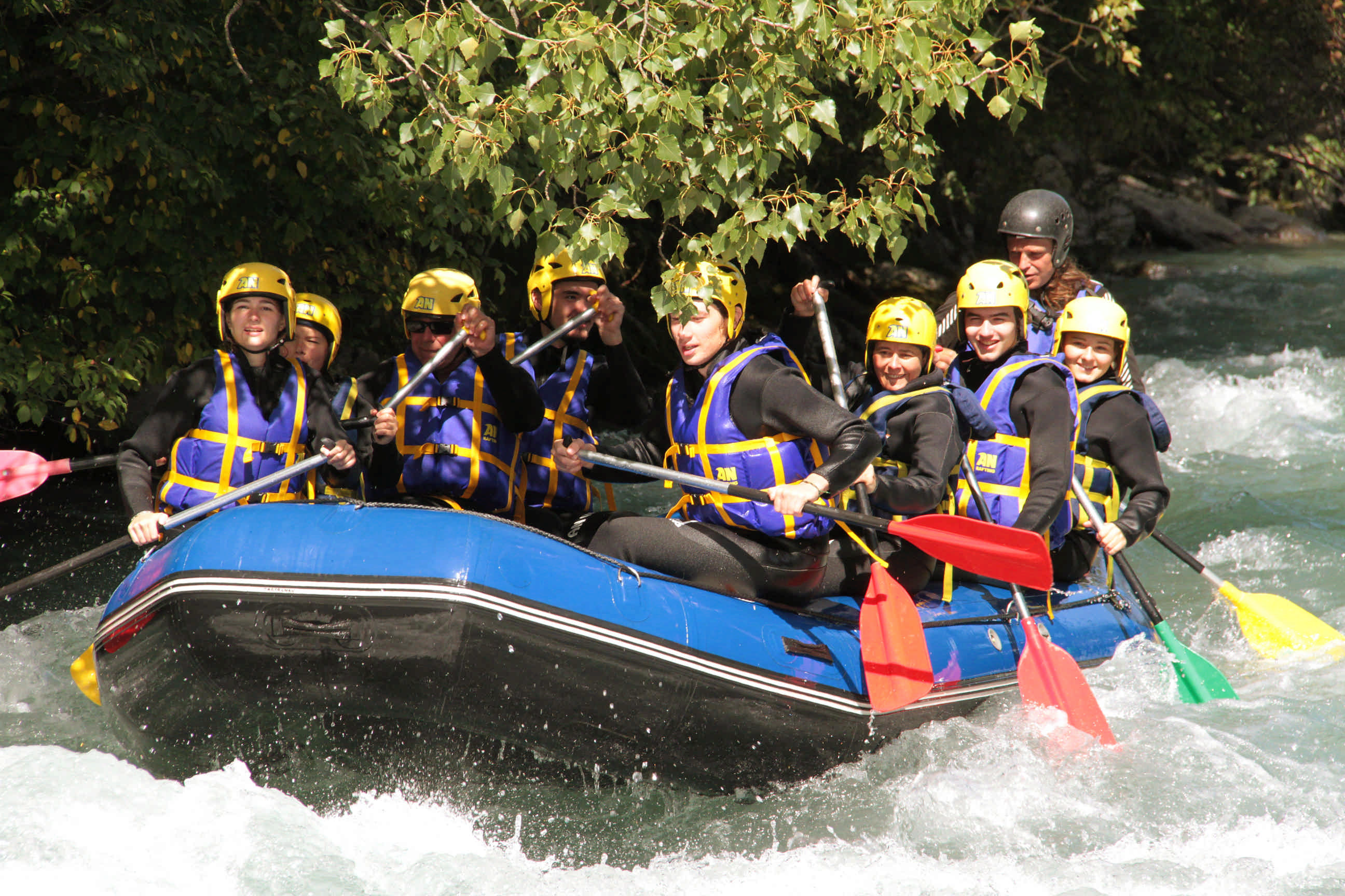 Séminaire Challenge Rafting