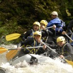 Challenge rafting Morvan en Bourgogne - AN Rafting