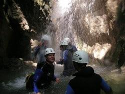 Séminaire initiation canyoning Haute Savoie