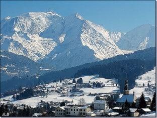 week end ski groupe Combloux