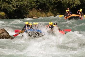 Séminaire rafting en Savoie - Haute Isère