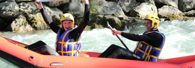 Combiné rafting Bourg Saint Maurice