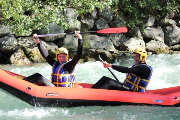 Canoe Raft sur la Dranse