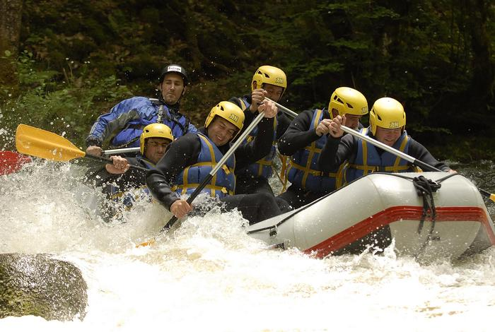 EVG rafting pour célibataires en Bourgogne