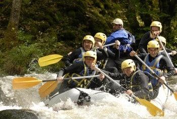 Week end rafting et canoë raft en Bourgogne - Nièvre