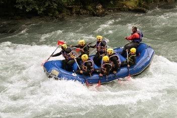 Journée spéciale CE avec rafting - AN Rafting - Isère