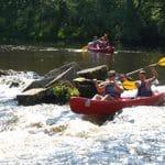 Canoe basse cure AN Rafting