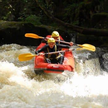 Canoe raft Morvan Bourgogne Chalaux