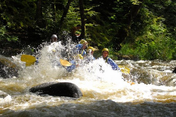 Pack 3 activités (rafting, hydrospeed et canoë raft) - Morvan