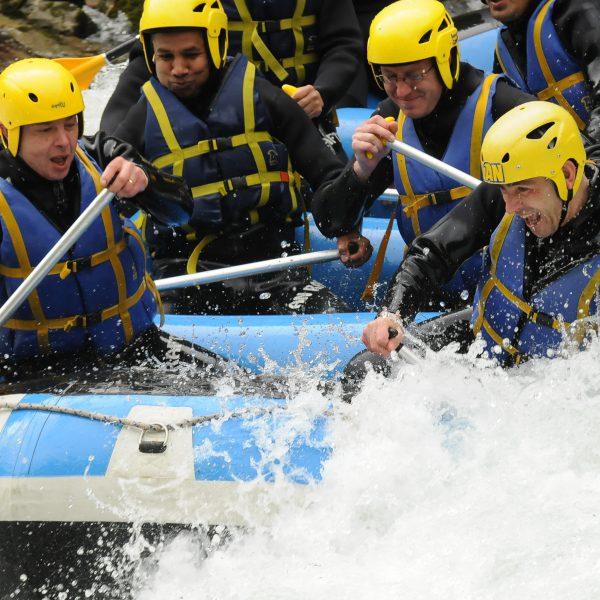 Rafting sensation AN Rafting Savoie