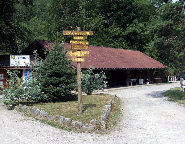 Base AN Rafting Haute Savoie à Thonon les Bains - Dranse