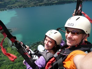 parapente annecy