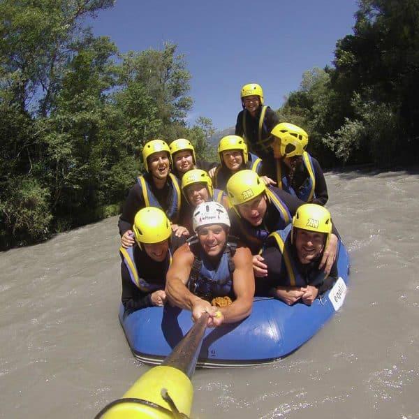 selfie rafting