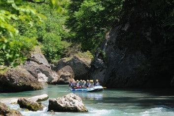 rafting famille dranse haute savoie