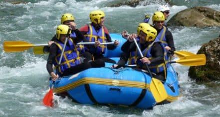 Chalaux rafting