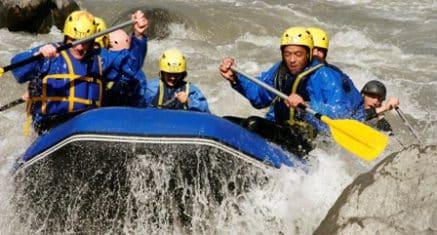 combiné rafting Savoie