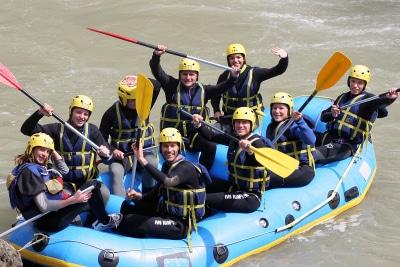 rafting integrale dranse