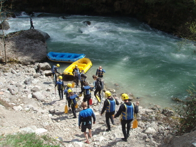 Challenge rafting séminaire