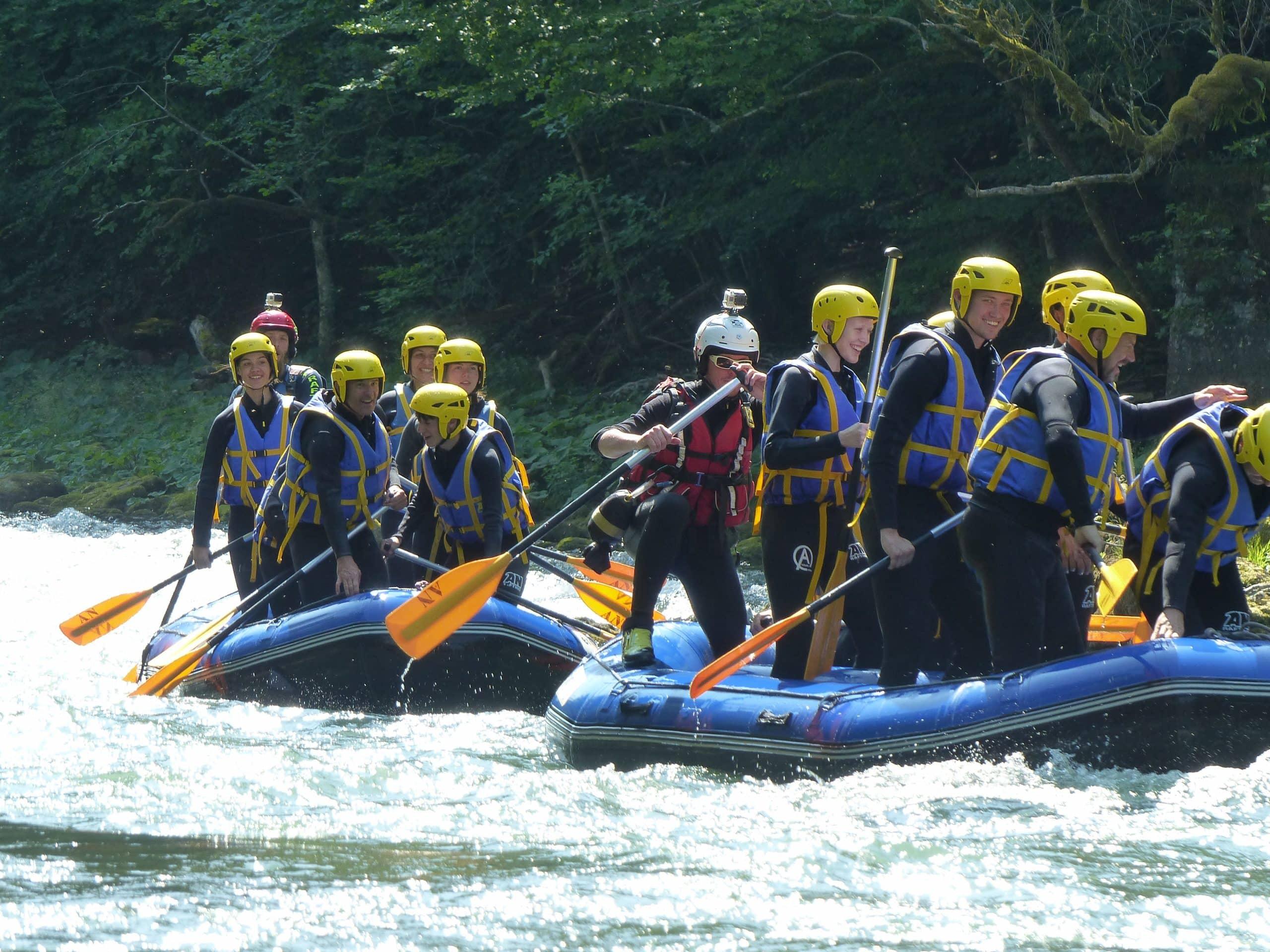 Week-end rafting Alpes