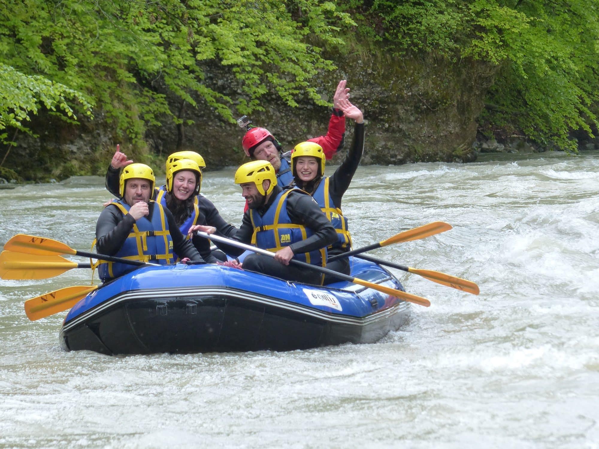 AN Rafting Haute-Savoie