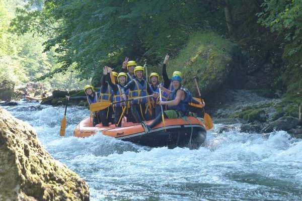 Rafting Dranse