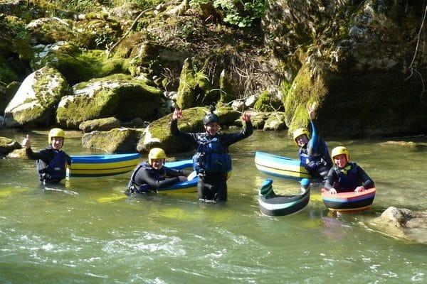 Hydrospeed en Haute-Savoie