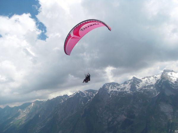 Parapente Haute-Savoie