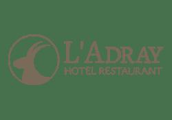 Logo de L'Adray - Hôtel Restaurant
