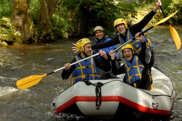 EVG EVJF Rafting